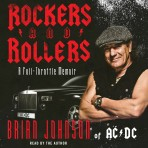 Rockers &#038; Rollers 3CD Audiobook read by Brian Johnson (abridged version)