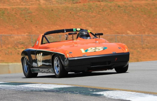 123 Porsche 914 6 Brenda Johnson The Mitty 2013