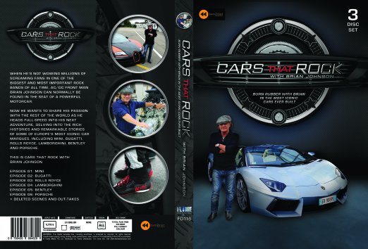 Cars That Rock UK DVD