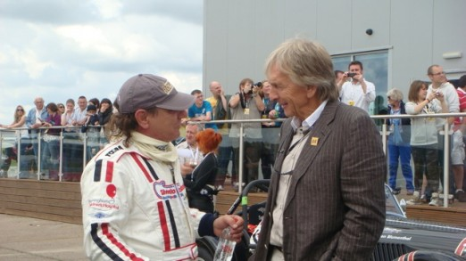 Brian was thrilled to meet Derek Bell at a recent meeting... Widely regarded as one of the greatest British racing car drivers - 5 times winner of Le Mans, 3 times winner of the Daytona 24 & one of the best liked drivers of his generation.