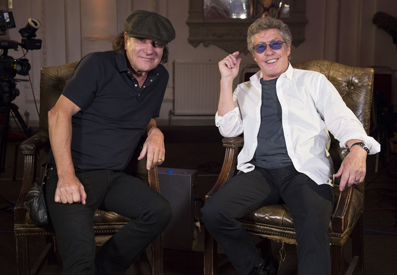 Brian Johnson & Roger Daltrey