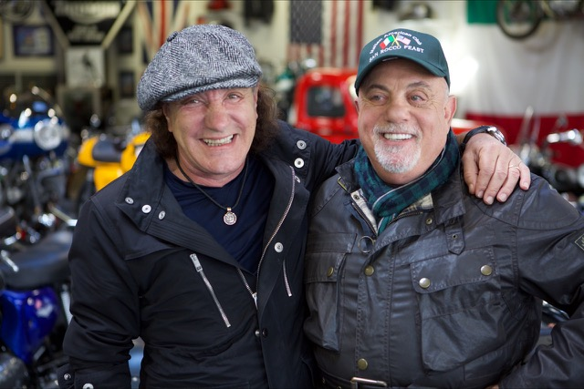 Brian Johnson with Billy Joel